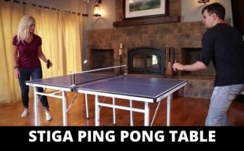 stiga ping pong table